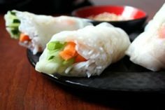 Spring Rolls IX Recipe - thanks to our Twitter follower @bodinestephJAIL for the link! #GrimmwayFarms #JustCrunchEm