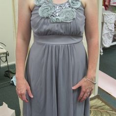 Net's consignment store bridesmaid dress