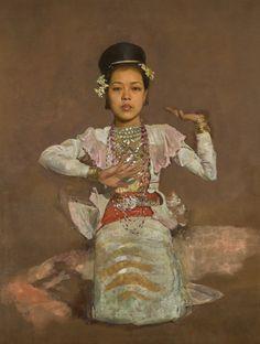 kelly burmese dancer no.6; ma se     figures     sotheby's l17132lot9g93fen