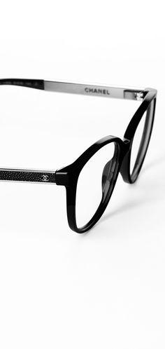 Lunettes de vue œil de chat en... - CHANEL Ray Ban Sunglasses Sale ea880c6676f8