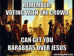 Voting With The Crowd: That's what's happened in the USA.  Not sure if that is what happened or if the entire crowd has been manipulated, misled, and lied to.  Same outcome, tho.
