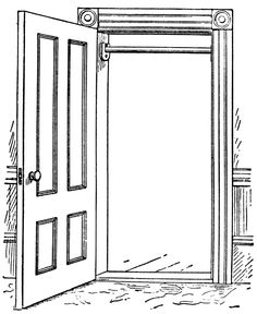 Vždy máš dvere otvorené .. len stačí prekročiť prah!