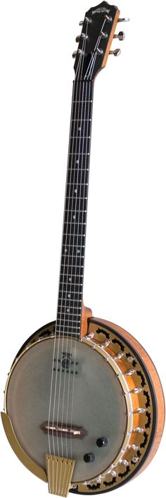 The Phoenix 6 String banjo has a beautiful organic tone that results in warm and well-rounded full notes. When amplified, these characteristics are enhanced by a combination of brilliant highs via the