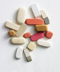 Erasers! I used to collect them - still lo...ve them!