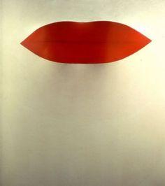 Pino Pascali, Primo piano labbra on ArtStack #pino-pascali #art