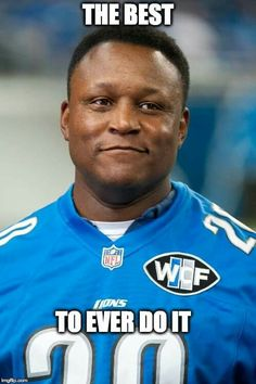 Barry Sanders is the greatest running back I have ever seen play. https://www.fanprint.com/licenses/detroit-lions?ref=5750