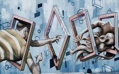 Street Art in San Diego - Jestem w lesie San Diego, Street Art, Painting Art