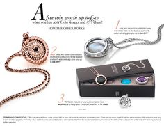 FREE jewellery offer! #Emozioni #Coin #HotDiamonds #Jewellery #Jewelry
