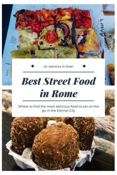 Best Street Food in Rome Where to find the best street food in Rome, Italy & Travel Guide & Food Guide Source by Italy Travel Tips, Rome Travel, Travel Guide, Travel Destinations, Travel Europe, Venice Travel, Travel Usa, Travel Ideas, Travelling Europe