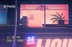 [if we go for live film - glitches and filters, VHS effects] V A P O R W A V E • '9 6  on Behance