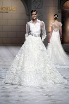 Pronovias at Barcelona Bridal Week 2014