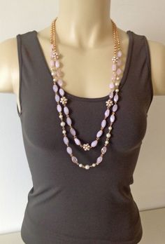 Pink Mia Collection Necklace. Super cute and only $19.00 with free shipping!