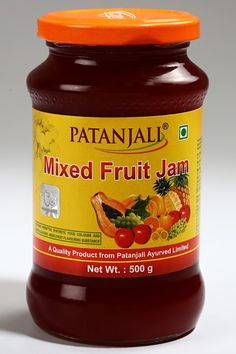 mix-fruit-jam  product of #patanjali