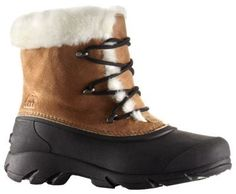 """Sorel Snow Angel Lace-Up Insulated Waterproof Pac Boots for Ladies - Rootbeer - 10 M: """"""""""""Combining… #Fishing #Boating #Hunting #Camping"""