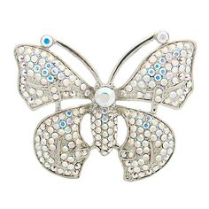 Crystal #Butterfly #Brooch Was £28.00  Now £14.00 You Save: 50%