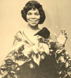 Opera Singer Marian Anderson