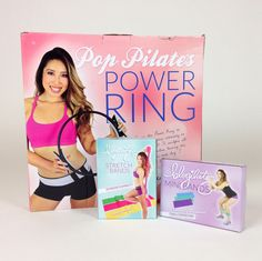 Get the POP Pilates Power Ring, Blogilates Stretch Bands and Blogilates Mini Bands all in one at a discounted rate!Click on the picture for more information. (Aff)