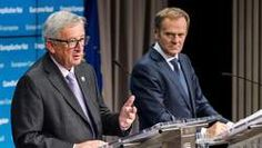 """Juncker: """"We hebben CETA nodig, het is het beste akkoord dat we ooit afsloten"""""""