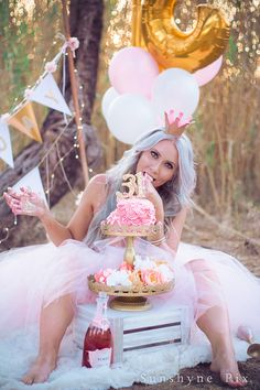 Birthday Eve, Golden Birthday, Adult Cake Smash, Flower Girl Dresses, Wedding Dresses, Picnic, Party Ideas, Image, Anniversary Pictures