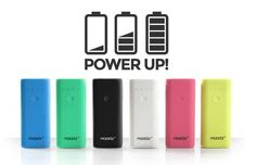 [Test] Batteries portables Power Up Moodz