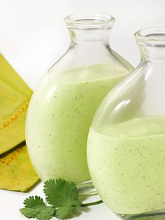Cilantro Lime Dressing: extra virgin olive oil, plain yogurt, lime juice, garlic, cilantro...