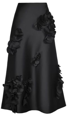Ideas For Skirt Long Black Blouses - Outfits✨ - Jupe Abaya Fashion, Modest Fashion, Fashion Dresses, Couture Fashion, Blouse And Skirt, Dress Skirt, Dress Up, Black Blouse, Midi Skirt
