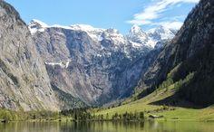 Röthbachfall am Südufer des Obersees am Königssee: Der höchste Wasserfall Deutschlands