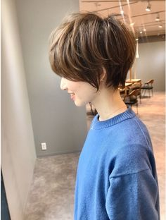 Shot Hair Styles, Hair Styles 2016, Pretty Hairstyles, Bob Hairstyles, Hair Dos, My Hair, Japanese Haircut, Girl Haircuts, Pixie Haircut
