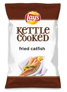 Wouldn't fried catfish be yummy as a chip? Lay's Do Us A Flavor is back, and the search is on for the yummiest chip idea. Create one using your favorite flavors from around the country and you could win $1 million! https://www.dousaflavor.com See Rules.