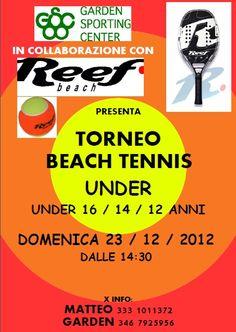 Torneo Beach Tennis Under - Garden Sporting Center Rimini