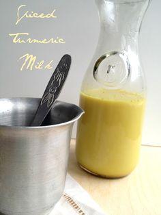 Spiced Turmeric Milk will keep flu symptoms at bay.