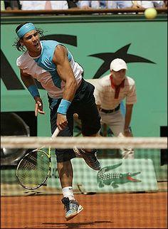 #tennis star Rafael Nadal