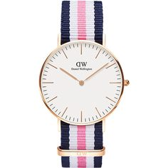 Daniel Wellington Classic Southampton 36mm Watch (805 MYR) ❤ liked on Polyvore featuring jewelry, watches, accessories, women, water resistant watches, daniel wellington, analog watches, analog wrist watch and daniel wellington watches