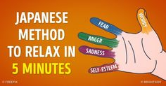 It Takes 5 Minutes to Relieve Stress With This Japanese Technique. (No idea if it works; pinned to try later.)