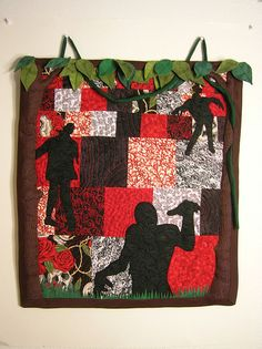 Zombie Mini Art Quilt - Craftster.org