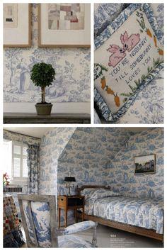 Toile ~ BUNNY MELLON's home