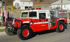 Dumfries Triangle Volunteer Fire Department - Brush 503 - 1996 Hummer I Model VLC2 Cab.