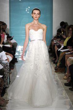 Reem Acra Bridal 2013