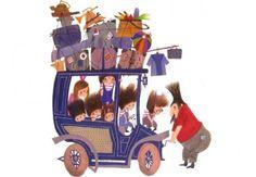 Pluk van de Petteflet (Tow Truck Pluck) by Annie M. Schmidt with illustrations by legendary Dutch Illustrator Fiep Westendorp 'Pluk van de Petteflat' is one of Holland's most beloved children's books. People Illustration, Children's Book Illustration, Kids Planner, Sweet Drawings, Cultura Pop, Vintage Children, Illustrations Posters, Childrens Books, Art For Kids