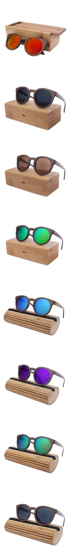 2016 Trends Bamboo Wooden Sunglasses With Polarized Lens | Weird Deck