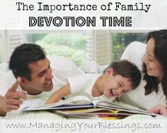 The Importance of Family Devotion Time