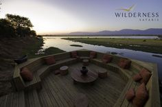 Ruckomechi Camp - The mighty Zambezi sweeps past camp  #Africa #Safari #Zimbabwe #WildernessSafaris