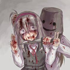 Resultado de imagen para Anime gore yandere