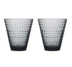 Kastehelmi bicchieri 2pz grigio/glasses 2 pc grey  https://www.aitonordic.it/collections/protti-per-cucina-e-per-tavolo/products/kastehelmi-bicchiere-grigio-iittala