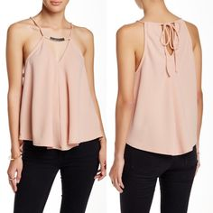 Free Press Pink Top Brand new, no defects of any kind, looks super chic and the movement of this top is gorgeous  Free People Tops
