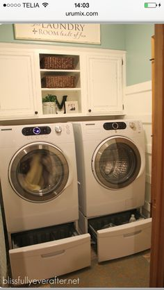Best Of Platform for Washer and Dryer In Basement