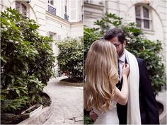 wedding day in Paris   Image by Marjorie Prvl Photography