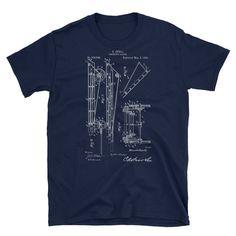 Firefighter's Ladder T-shirt, Firefighter's Patent Print T-shirt, Firefighter's Men's T-shirt, Firefighter's Unisex T-shirt,Firefighter Gift Firefighter Gifts, Patent Prints, Cool T Shirts, Ladder, Etsy Seller, Unisex, History, Trending Outfits, Hot