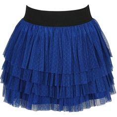 Mesh Dot Tiered Skirt (20 AUD) ❤ liked on Polyvore featuring skirts, mini skirts, bottoms, saias, blue, solid, tiered skirt, mesh mini skirt, polka dot mini skirt and forever 21 mini skirt