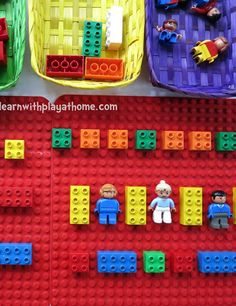 Learning Pattern with Lego Toys